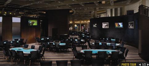 Play poker at MGM Grand Hotel