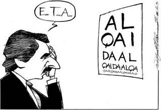 Aznar Alqaeda Eta