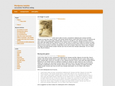 Camel WP Theme