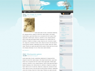 Dreamy WP Theme