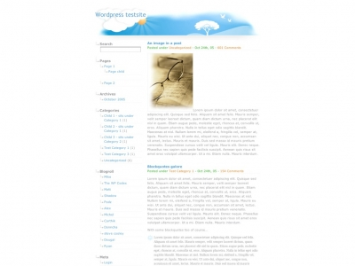 Seperti, theme de WordPress