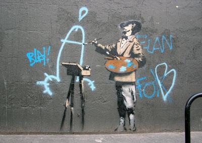 Vandalism is art