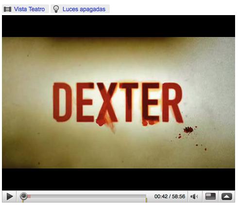Dexter en Youtube