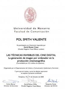 Diplomario del Seminario de Efectos Digitales