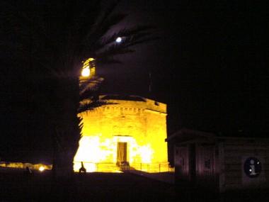 Castillo de Menorca en el que tuvo lugar la conversación