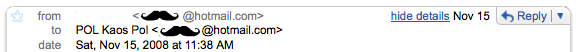 Correo para Hotmail, recibido en Gmail