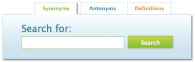 En synonym.com puedes encontrar definiciones, sinónimos y antónimos fácilmente