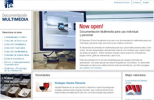 Instituto Empresa Documentación Multimedia