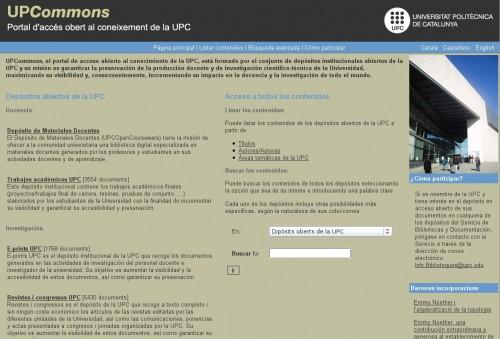 UPC Commons