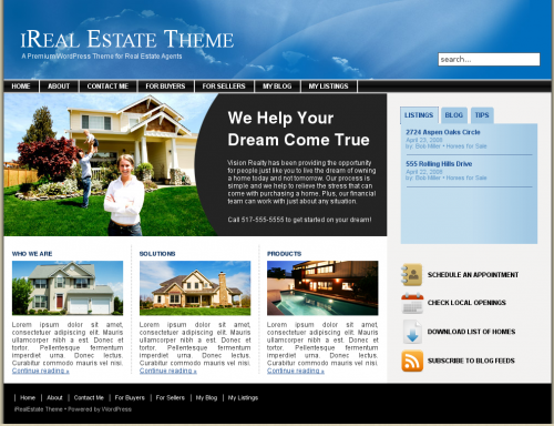 ireal-estate-theme