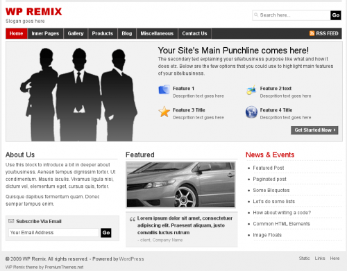 wp-remix-theme