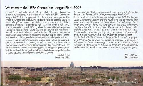 Presetación de Michel Platini, Presidente de la UEFA