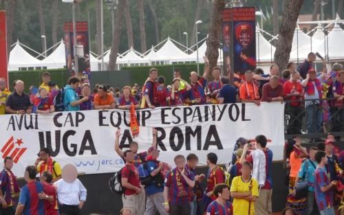 Hoy ningún equipo español juega en Roma