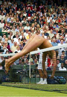 The Wimbledon Dive